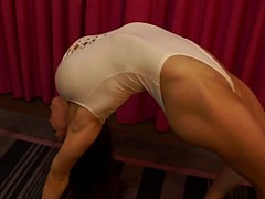 Epic Tits, Muscular Slut Fuck, Gorgeous Funbags, FBB, flexy, Gymnastic Girl, Gymnastic Sex, long Legs, Leotard, Natural Tits, Perfect Body Amateur Sex