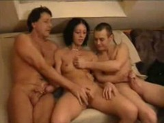 Amateur Threesome, homemade Coupe, Perfect Body Teen Solo