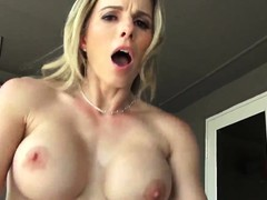 Pussy Fucked on Bed, 1st Time, stepmom, Perfect Body, Family Vacation