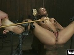 Extreme Dildo, Perfect Body Masturbation, Tied Up Fucked, Clit Torture, huge Toys