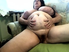 Gorgeous Boobs, Brunette, Chubby Girls, Perfect Body Masturbation, messy