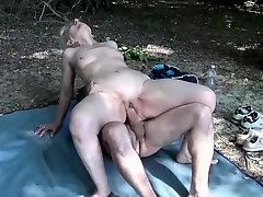 blondes, Gilf Bbc, gilf, outdoors, Perfect Body Anal Fuck, ugly Face, Caught Watching, Couple Watching Porn Together