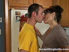 Cuckold Couple, Dominated, female Domination, Wife Friend, fucks, Hot MILF, Hot Wife, sissy Housewife, naked Mature Women, Milf, Housewife, Matures, Hot Mom Son, Perfect Booty