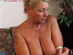 Blonde, Biggest Dildo, Granny Cougar, gilf, Homemade Masturbation, Solo Masturbation Hd, nude Mature Women, Mature Masturbation, soft, tattoos, vibrator, Single Girls Masturbating Masturbation